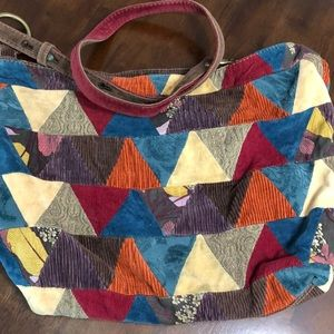 Lucky Brand Vintage Style Boho Festival Bag